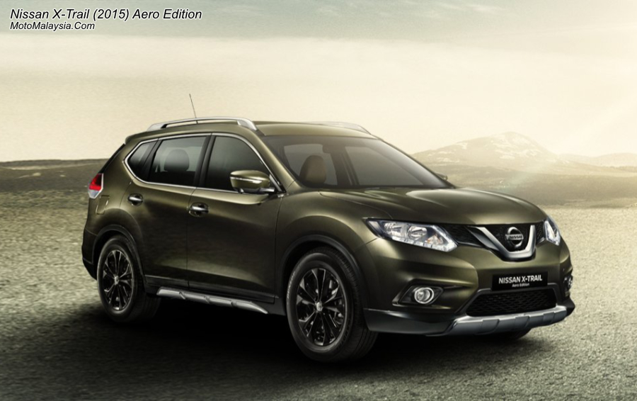 nissan x trail 2015 price in malaysia from rm133 800. Black Bedroom Furniture Sets. Home Design Ideas