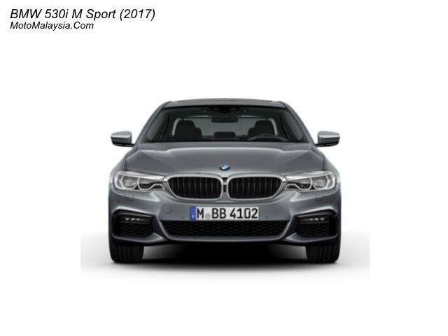 BMW 530i M Sport (2017) Malaysia