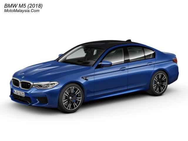 BMW M5 (2018) Malaysia