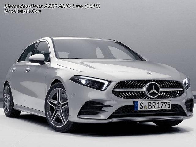 Mercedes-Benz A250 AMG Line (2018) Malaysia