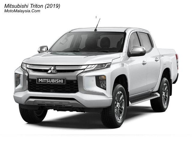 Mitsubishi Triton (2019) Malaysia