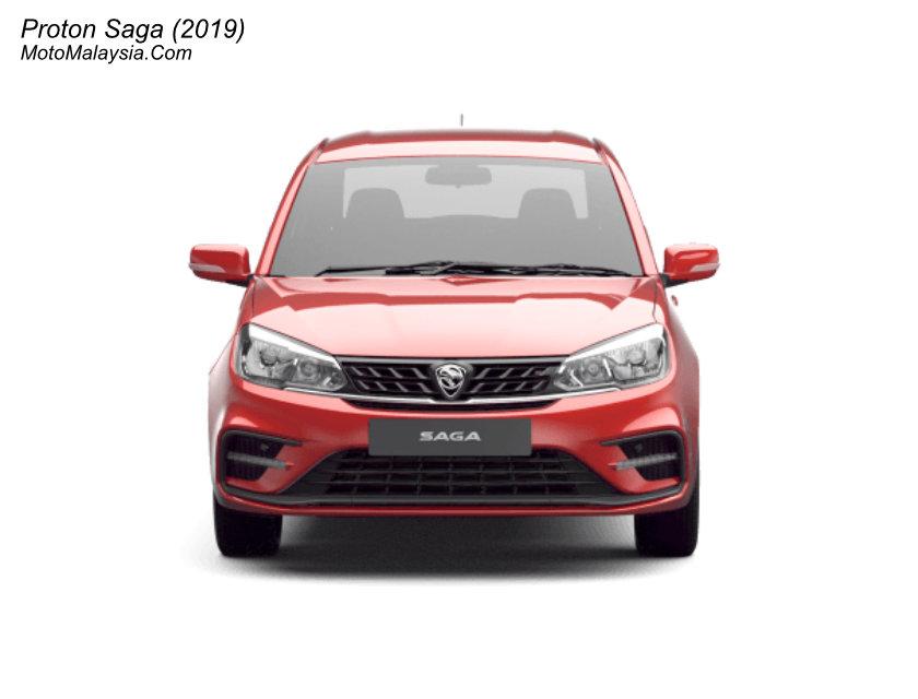 Proton Saga (2019) Malaysia