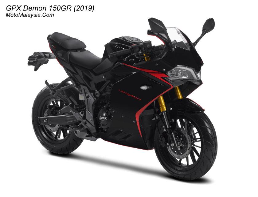 GPX Demon 150GR (2019) Malaysia