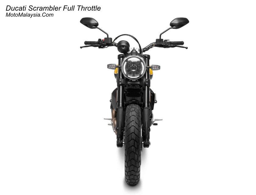 Ducati Scrambler Full Throttle Malaysia